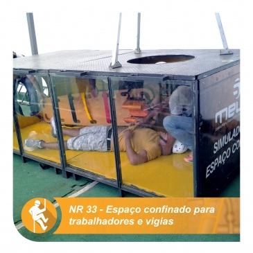 NR 33 – Espaço confinado para trabalhadores e vigias