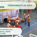 Treinamento de NR33 - Empresa Cave