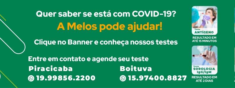 Teste Covid 19